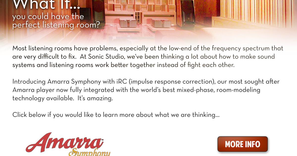 The Las Vegas Audio Club: Component of the Week: Amarra Symphony