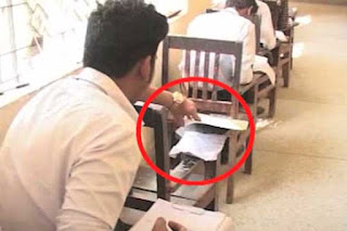 Cheating in exam in pakistan
