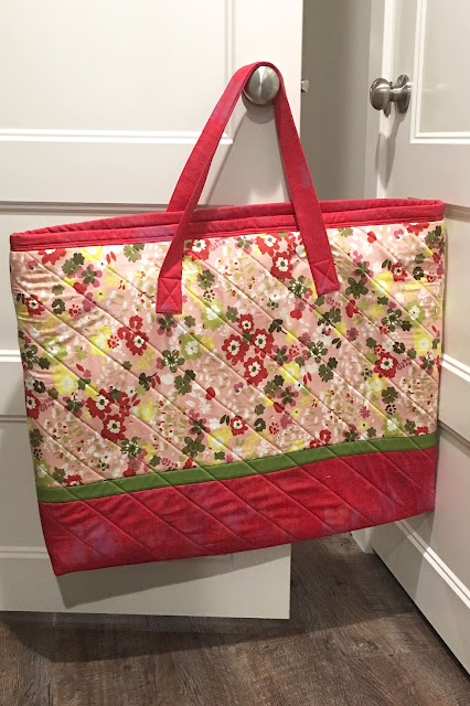 Mat Carrier bag from Sew on the Go by Cindy Taylor Oates