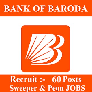 10th, Bank, Bank Of Baroda, BOB, freejobalert, Punjab, Latest Jobs, Peon, Sarkari Naukri, Sweeper, bob punjab logo