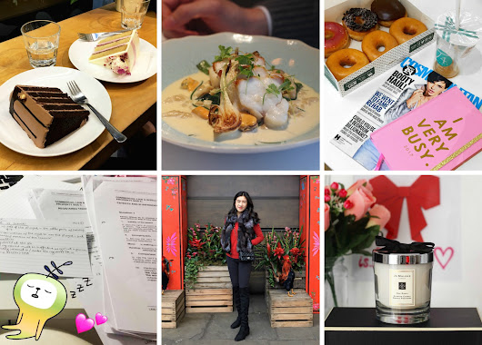 February Life Round-Up! Chinese New Year, Valentine's Day, Final Exams, Food and more Food! ♡