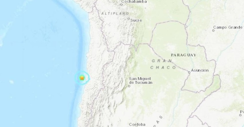 Temblor en Chile de Magnitud 5.6 y Alerta de Tsunami (Hoy Viernes 26 Abril 2019) Sismo - Terremoto - Epicentro - Chañaral - ONEMI - www.onemi.cl