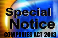 Procedure-Special-Notice-Companies-Act-2013