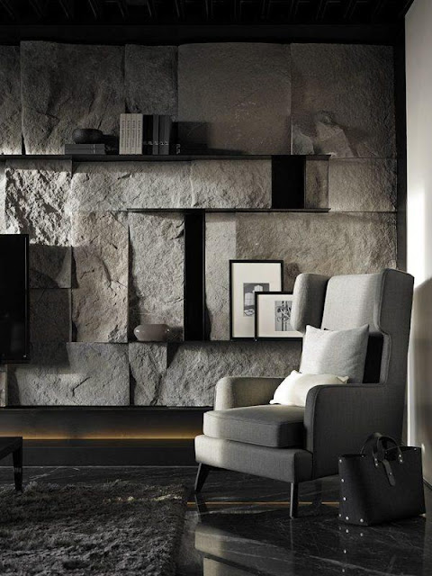 Natural Materials Interior Design