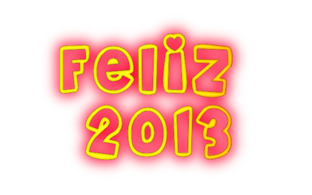 65 Imagenes, Texto, Palabras Año Nuevo 2013, Png