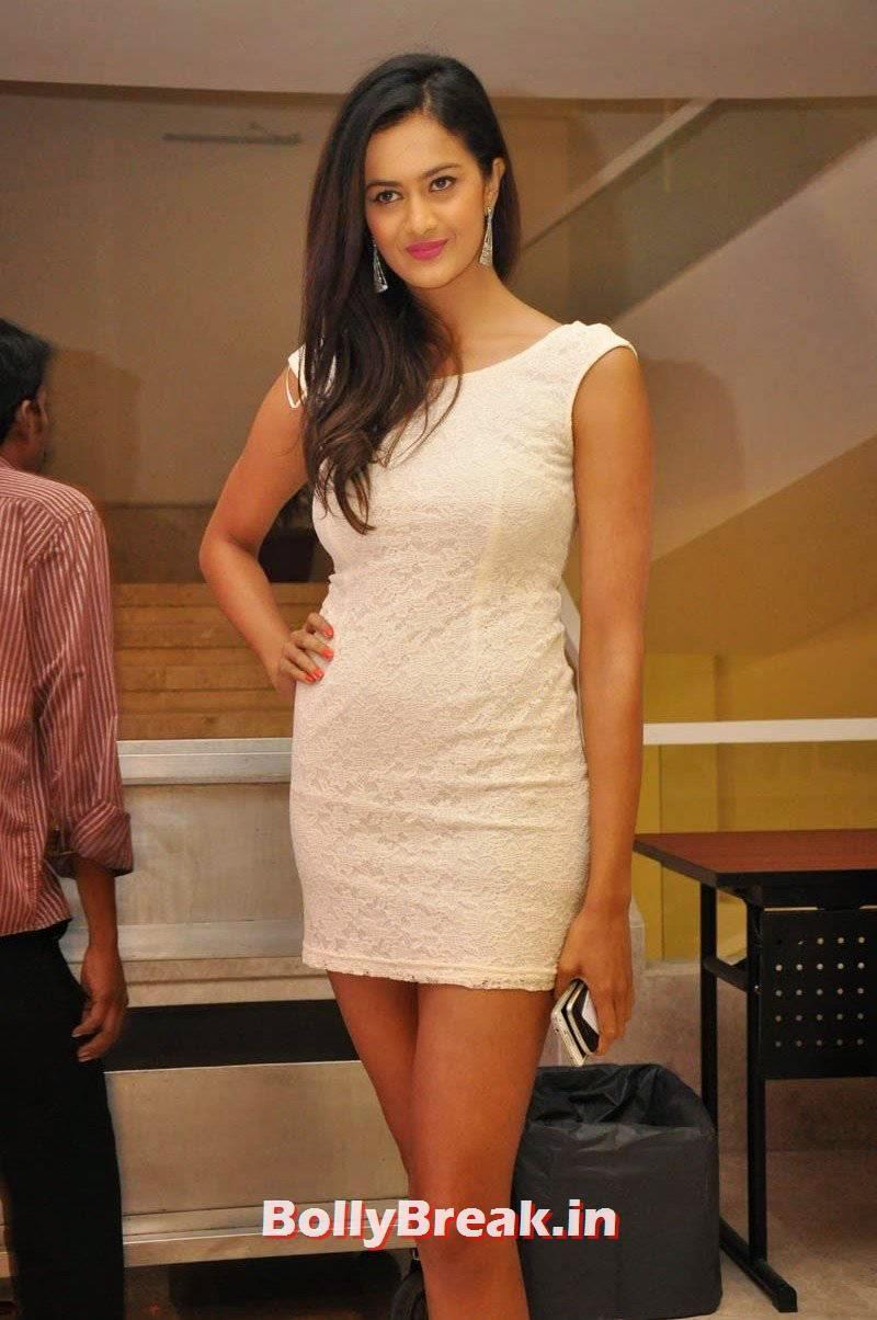 Actress Shubra Aiyappa Unseen Stills, Shubra Aiyappa hot Figure Hd Pics in White Dress