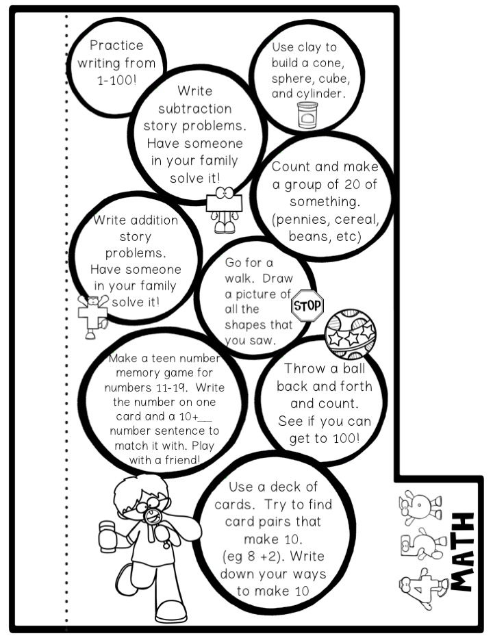 Ms. Moran's Kindergarten: Kindergarten Summer Review Packet