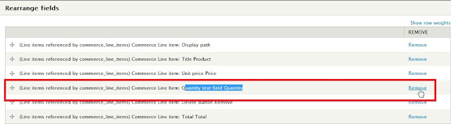 Disable the quantity text field in Shopping cart in Drupal Commerce 3