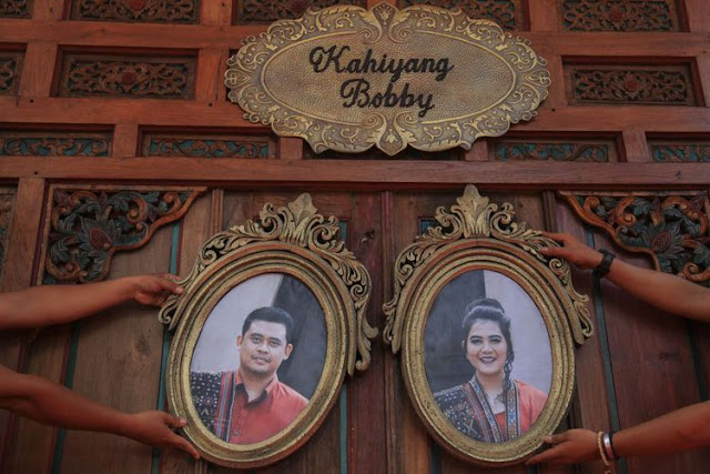Live Streaming Pernikahan Kahiyang-Bobby