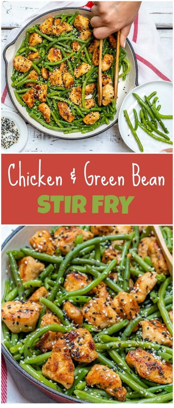 Chicken and Green Bean Stir Fry Recipe