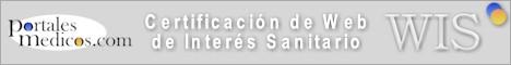 CERTIFICADO DE WEB DE INTERÉS SANITARIO