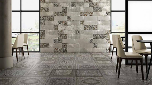 Tiles design images of Kilim series -A collection that create charming and mysterious designs