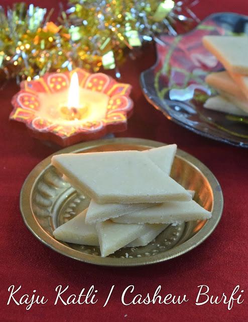 how to make kaju burfi