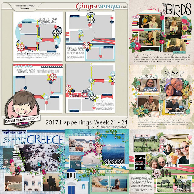 Dagi's Temp-tations Happenings Week 21-24