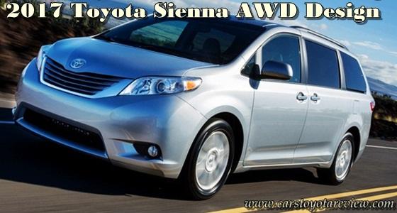 2017 Toyota Sienna AWD Design