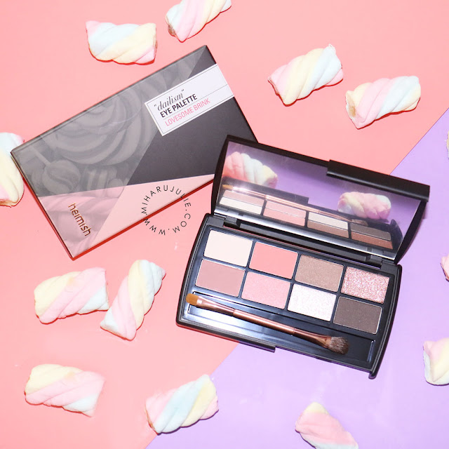 Heimish Dailism Eye Palette lovesome brink review