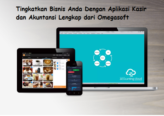 Aplikasi Kasir dan Akuntansi Lengkap Omegasoft