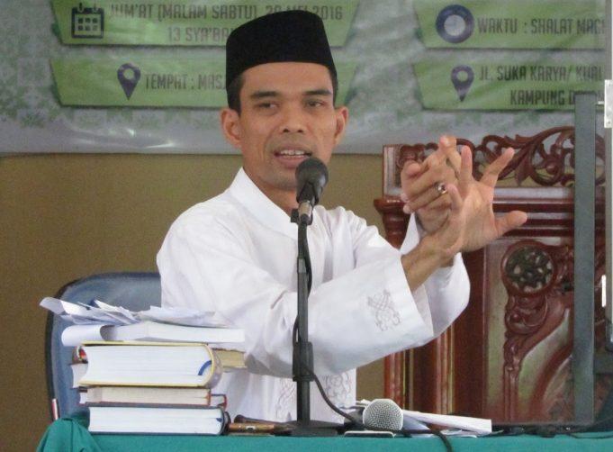 Rame-rame Membidik Ustad Abdul Somad