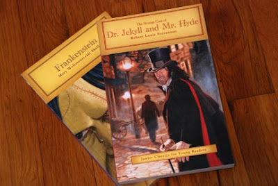 Frankenstein Dr. Jekyll and Mr. Hyde books