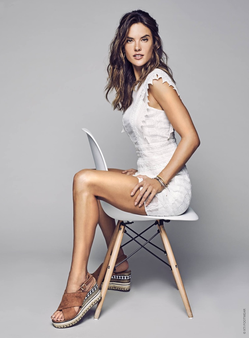 Alessandra Ambrosio stars in the XTI Shoes Spring/Summer ... алессандра амбросио