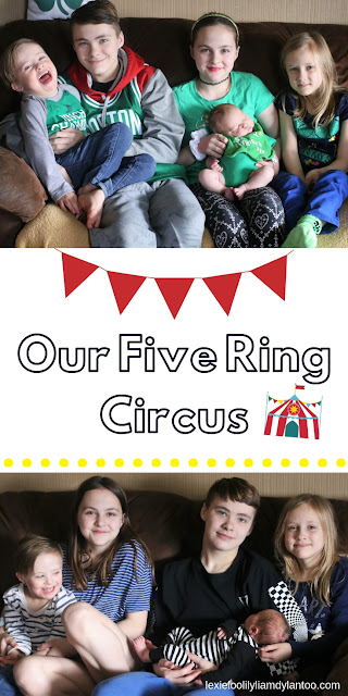 Our Five Ring Circus - Why I Re-Branded My Blog #bigfamily #Downsyndrome #parenting #blogging