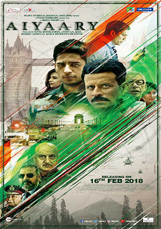 Aiyaary 2018 300MB Full Hindi Movie Download  Pre DVDRip x264