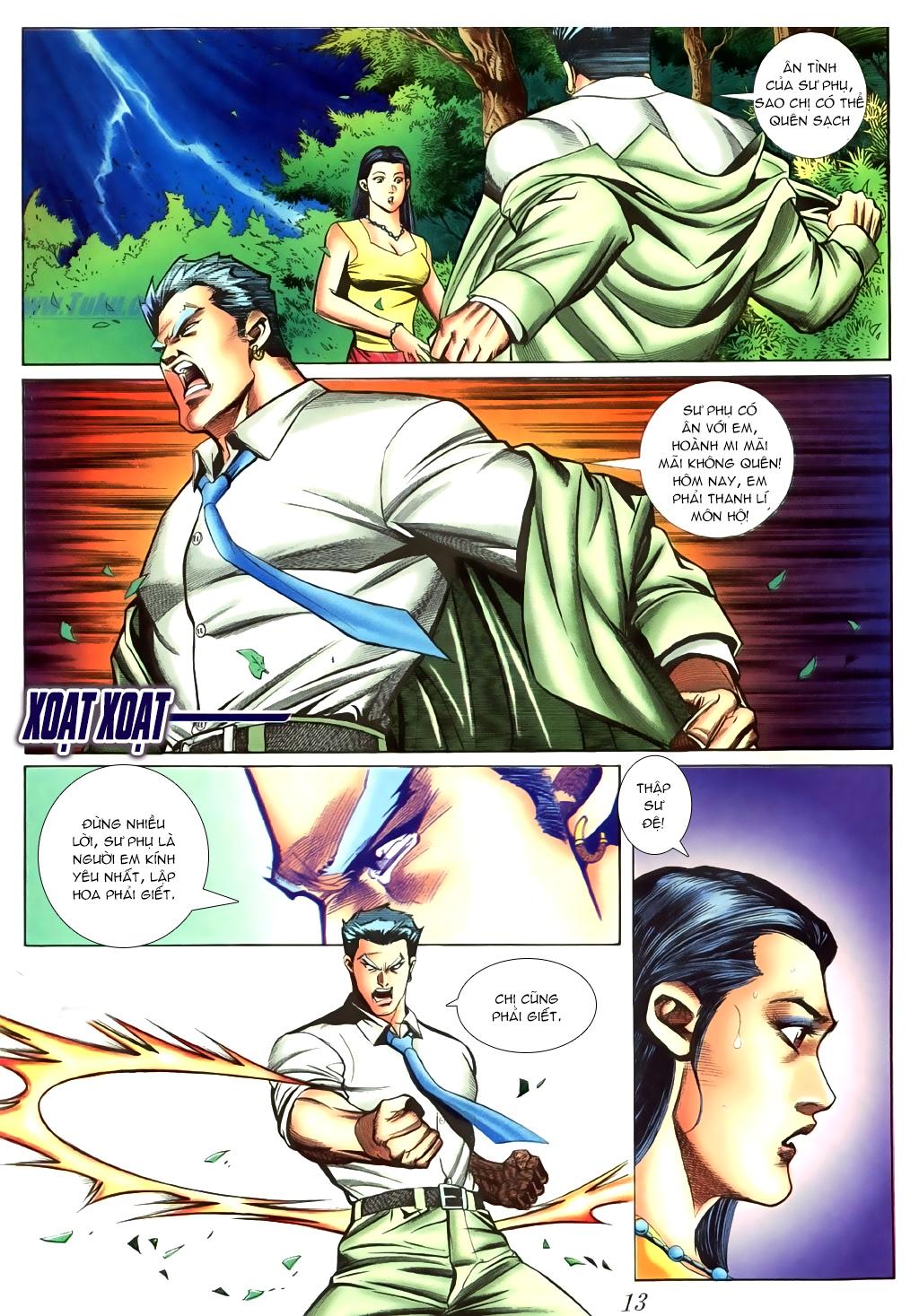 Người Trong Giang Hồ chapter 430 trang 9