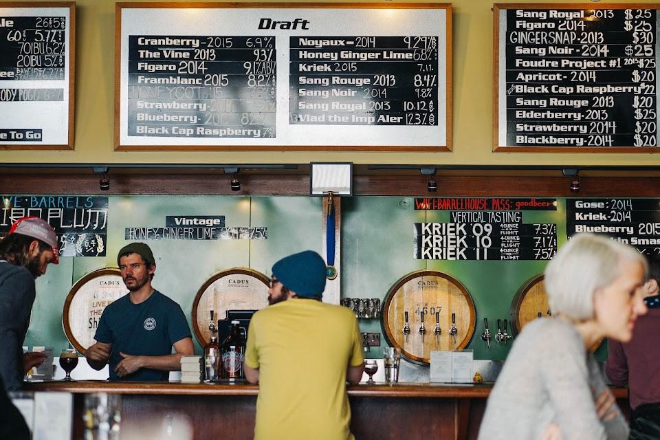 カスケード・ブルーイング・バレルハウス(Cascade Brewing Barrel House)