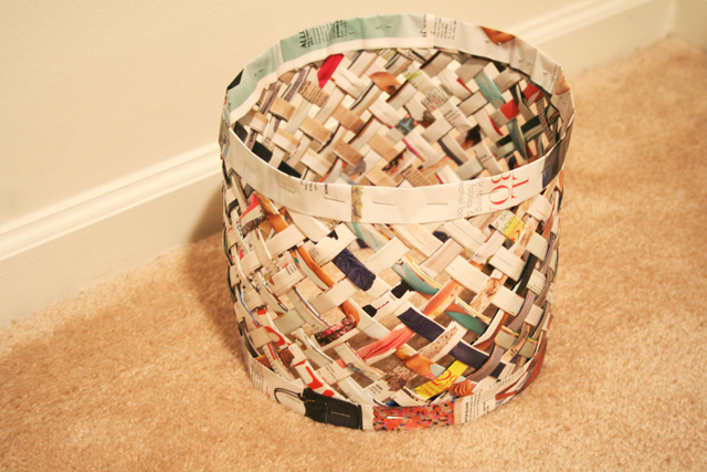 The Art Of Up Cycling Recycled Magazine Crafts Ideas To