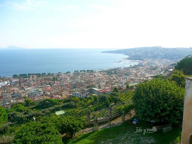 Cartuja San Martino vistas de la bahía