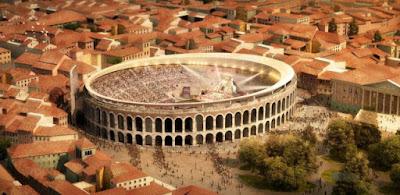 Γερμανικό σχέδιο για την κάλυψη του ρωμαϊκού αμφιθεάτρου της Βερόνα