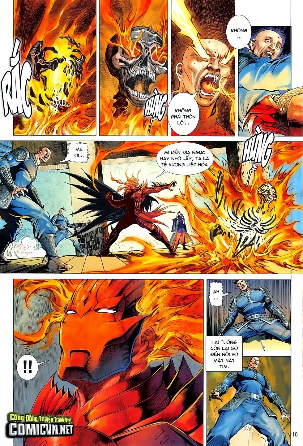 Chiến Phổ chapter 4: mị hồ ngự hỏa trang 15