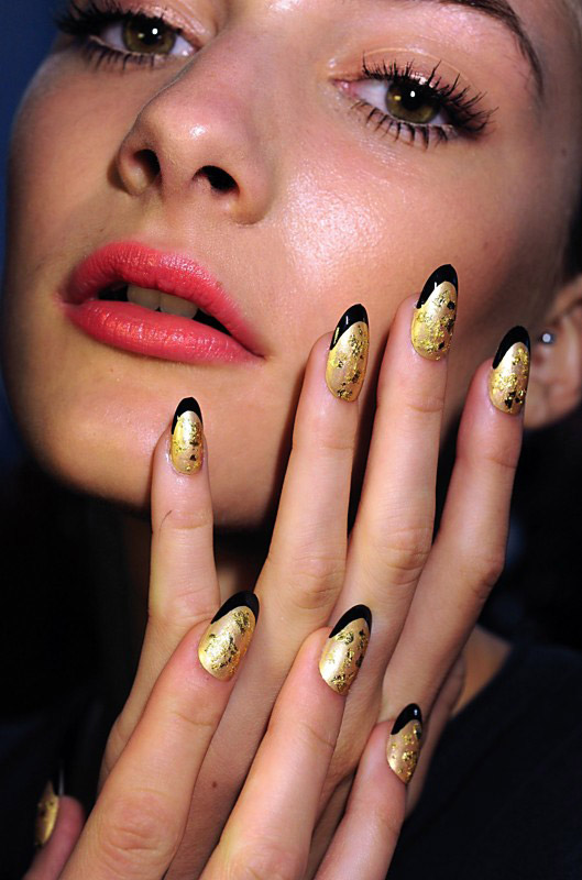 Trend Nail Art: Fashionista: Hot New Nail Trends 2012