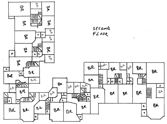 San Farlando Apartments, Portland, Oregon, first floor layouts