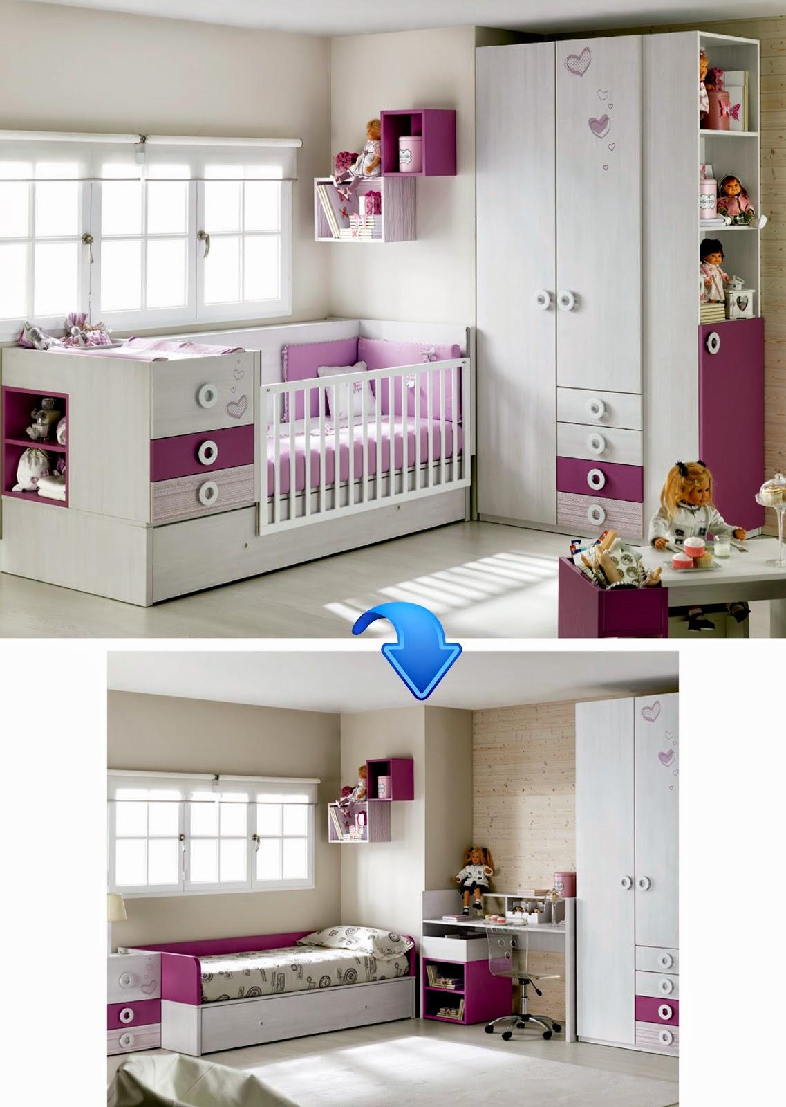 Cunas convertibles con cama nido camas y cunas for Cama nido hipermueble