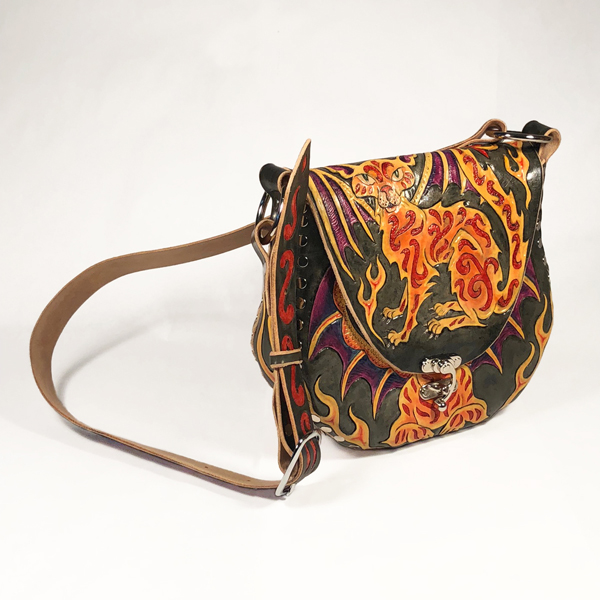 e4fcc6779f Cat Dragon Hobo Bag