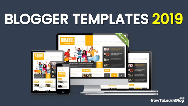 top 10 free blogger templates 2019
