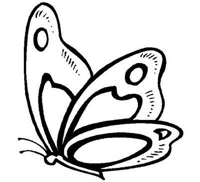 La Chachipedia Mariposas Para Colorear Para Imprimir Y Gifs Animados