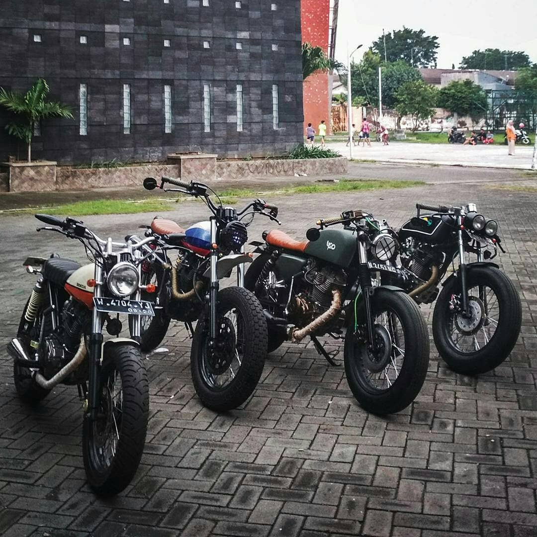Modifikasi Honda Custom Motor