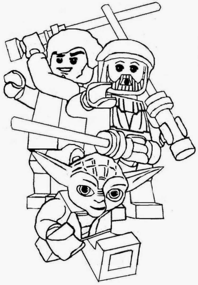 Ausmalbilder lego star wars in trickfilmfiguren malvorlagen kategorie