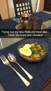 low carb paleo noodle bowl
