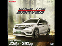 SPECIFICATION HONDA NEW BRV