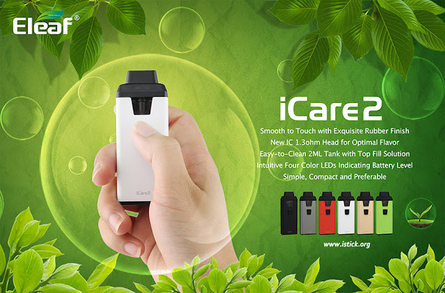 Eleaf iCare 2 Vape Starter Kit Launched