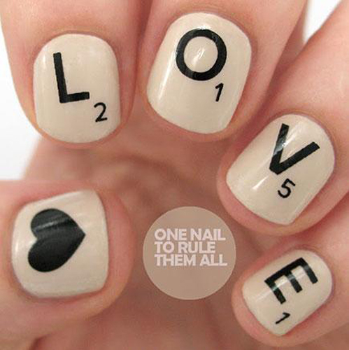 nail art designs step by step at home