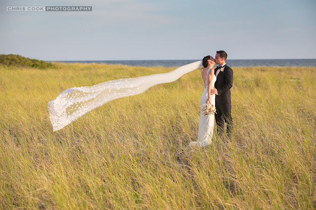 Cape Cod wedding blog photo from Chris Cook Photography about Amanda & Joe – Wychmere Beach Club – Sneak Peek