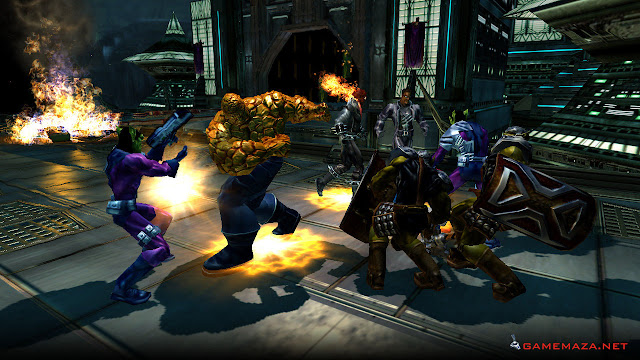 Marvel Ultimate Alliance 1 Gameplay Screenshot 4