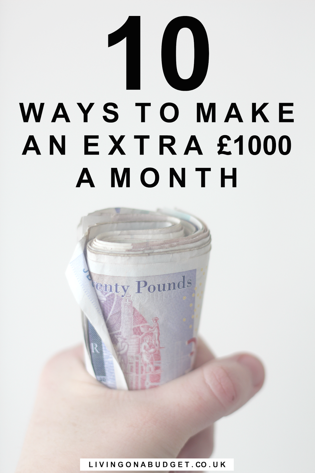 There are many ways to make extra money each month. In this post, you'll learn how to make an extra £1,000 a month!