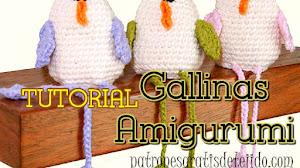 Gallina de Pascua Amigurumi / Tutorial