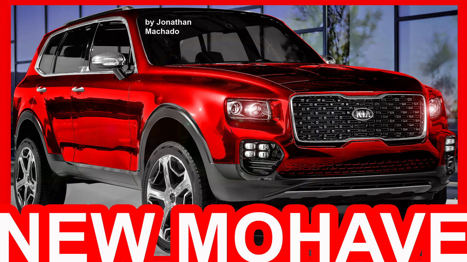 PHOTOSHOP New 2018 Kia Mohave @ Telluride Concept #MOHAVE | CARWP