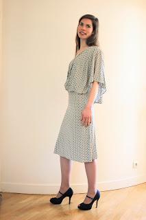 robe de cocktail par couturière créateur à Versailles